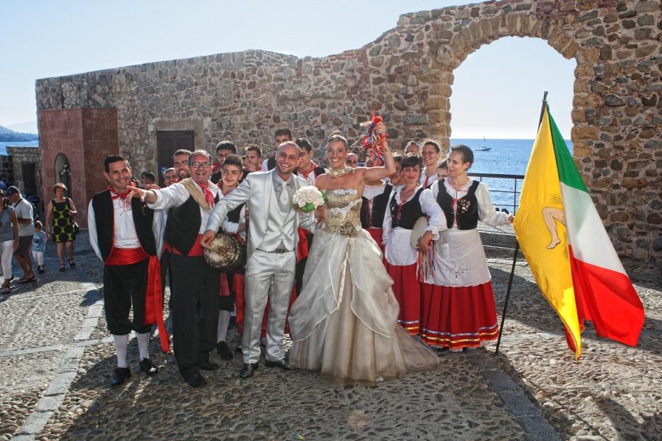 typical Sicilian wedding