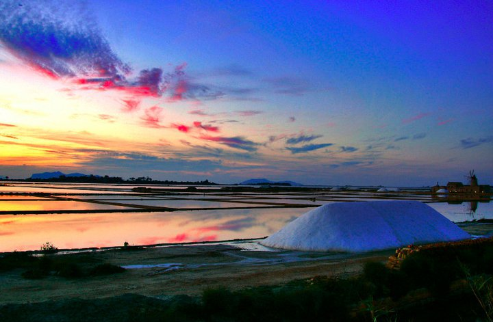 The incredible beauty of salt pans in Marsala