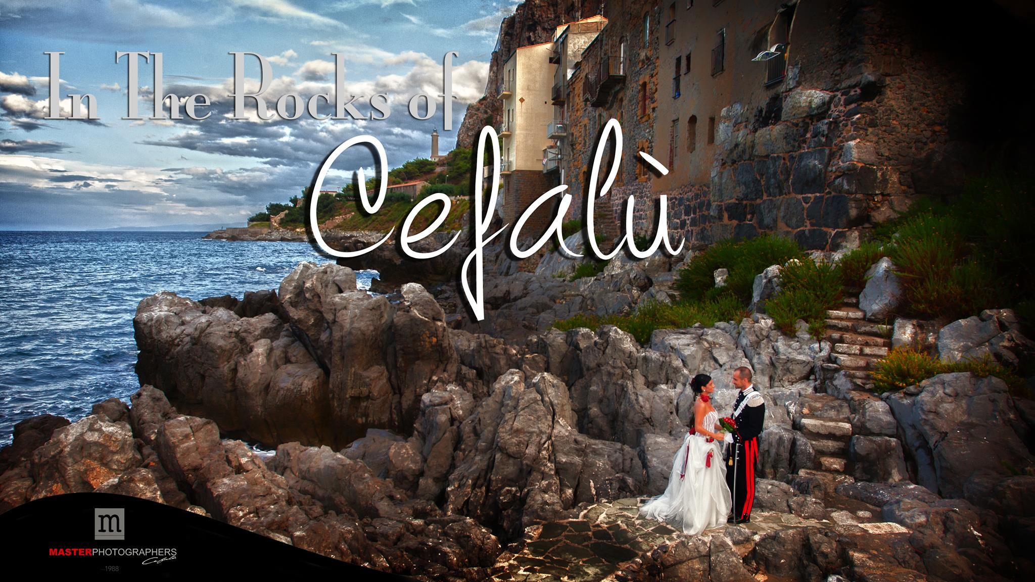 In the rocks of Cefalù - Sicily Wedding Destination