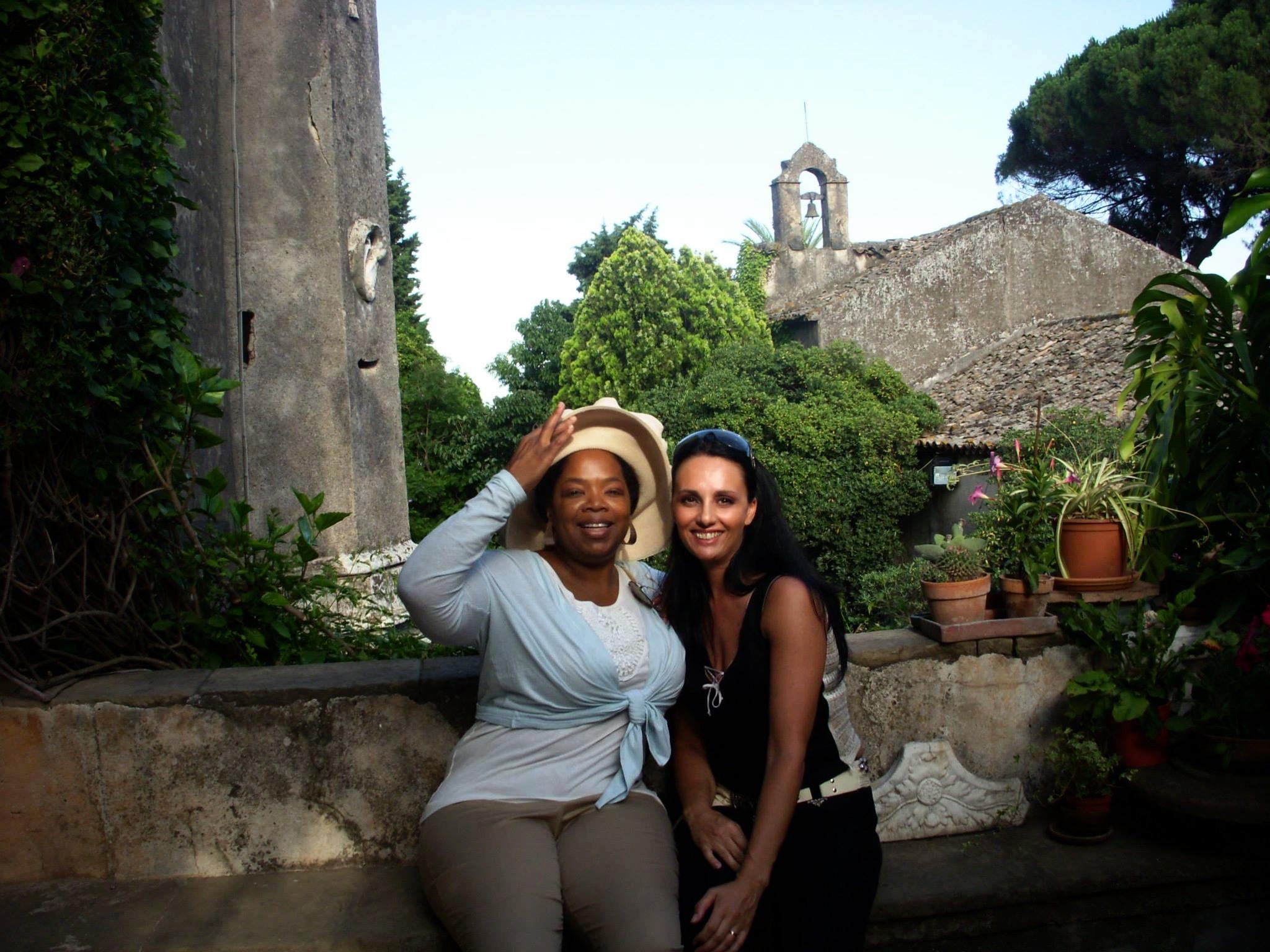 Oprah Winfrey in Sicily
