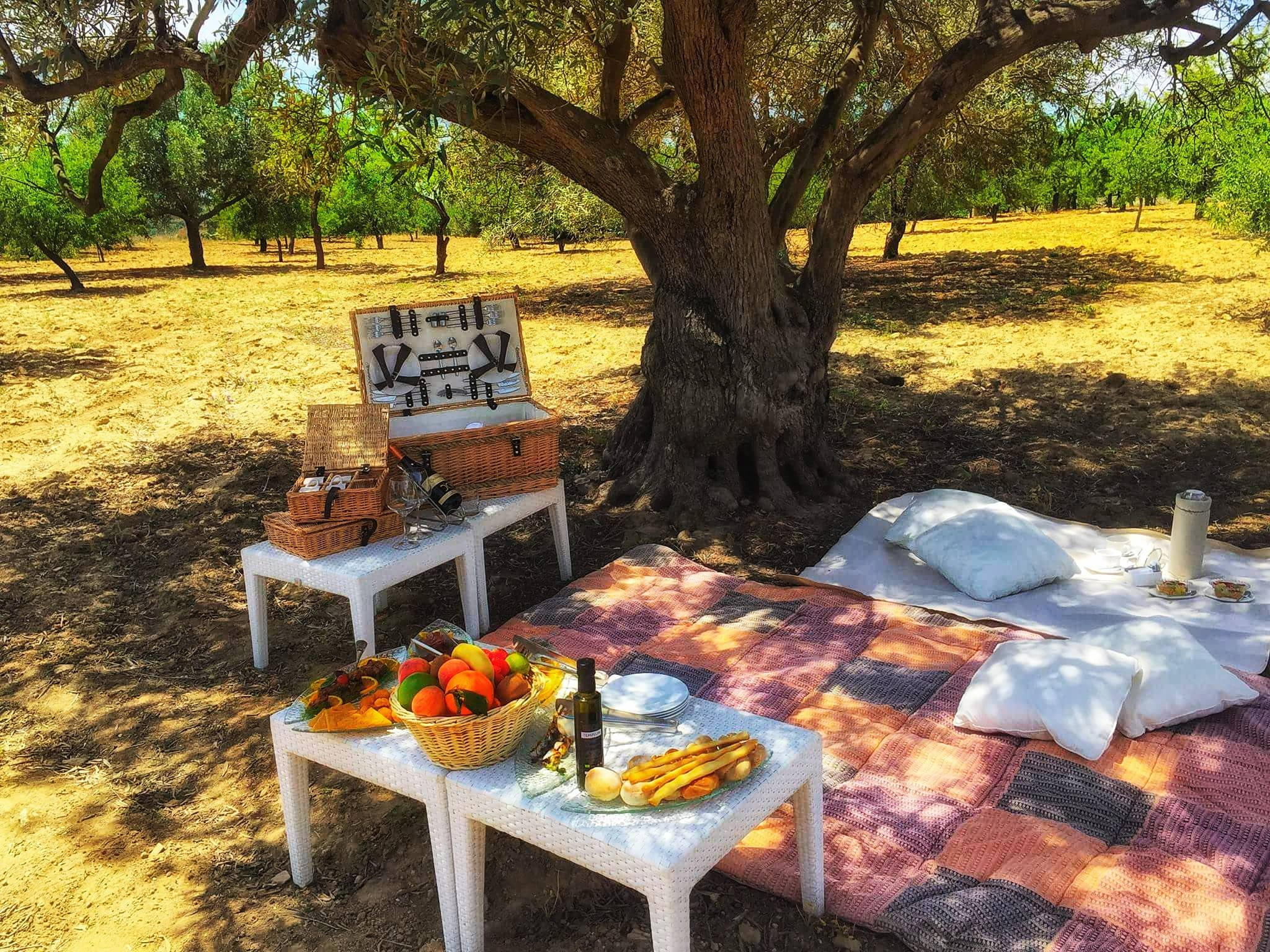 Picnic in Agrigento