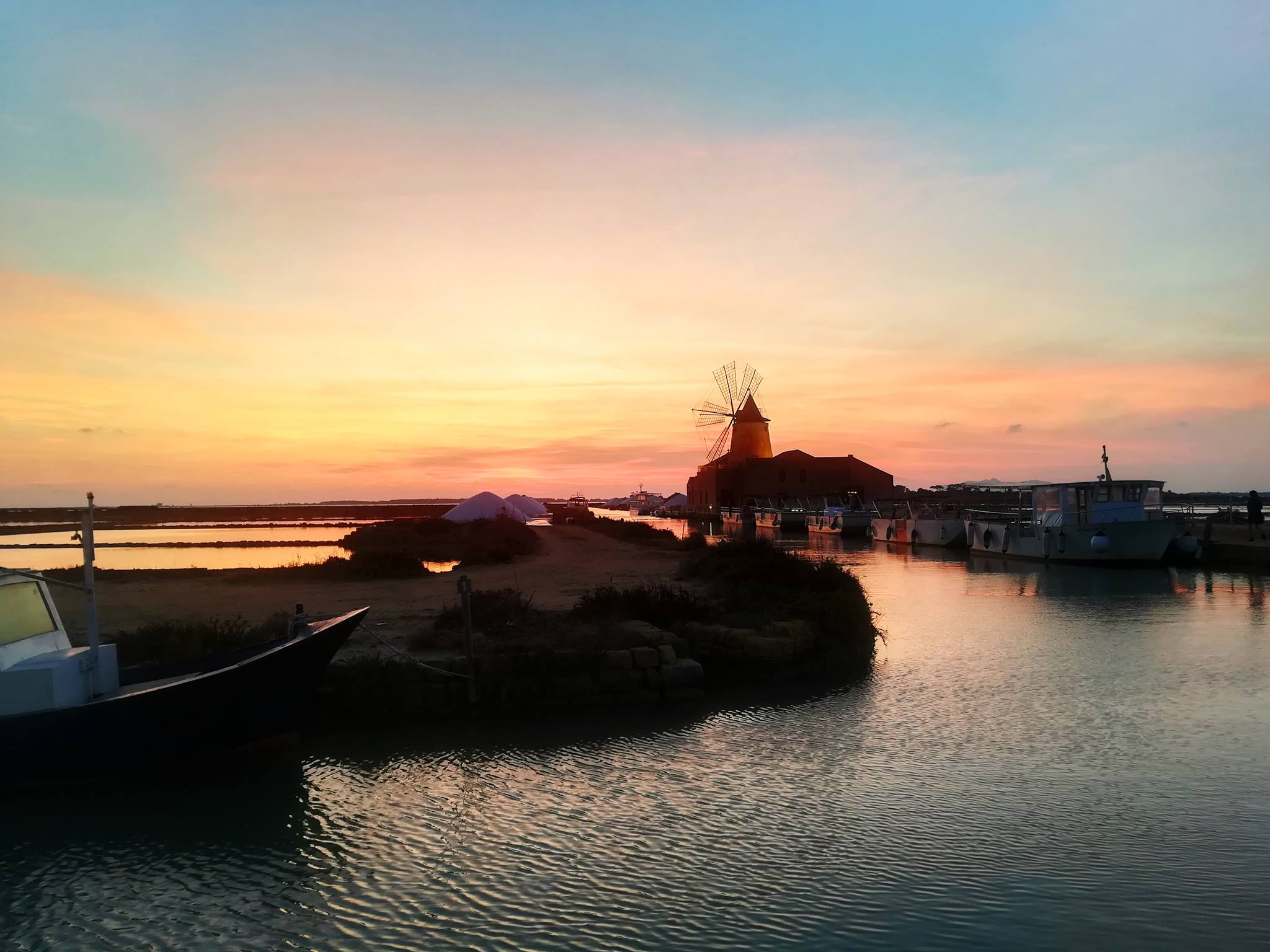 Sunset in Marsala