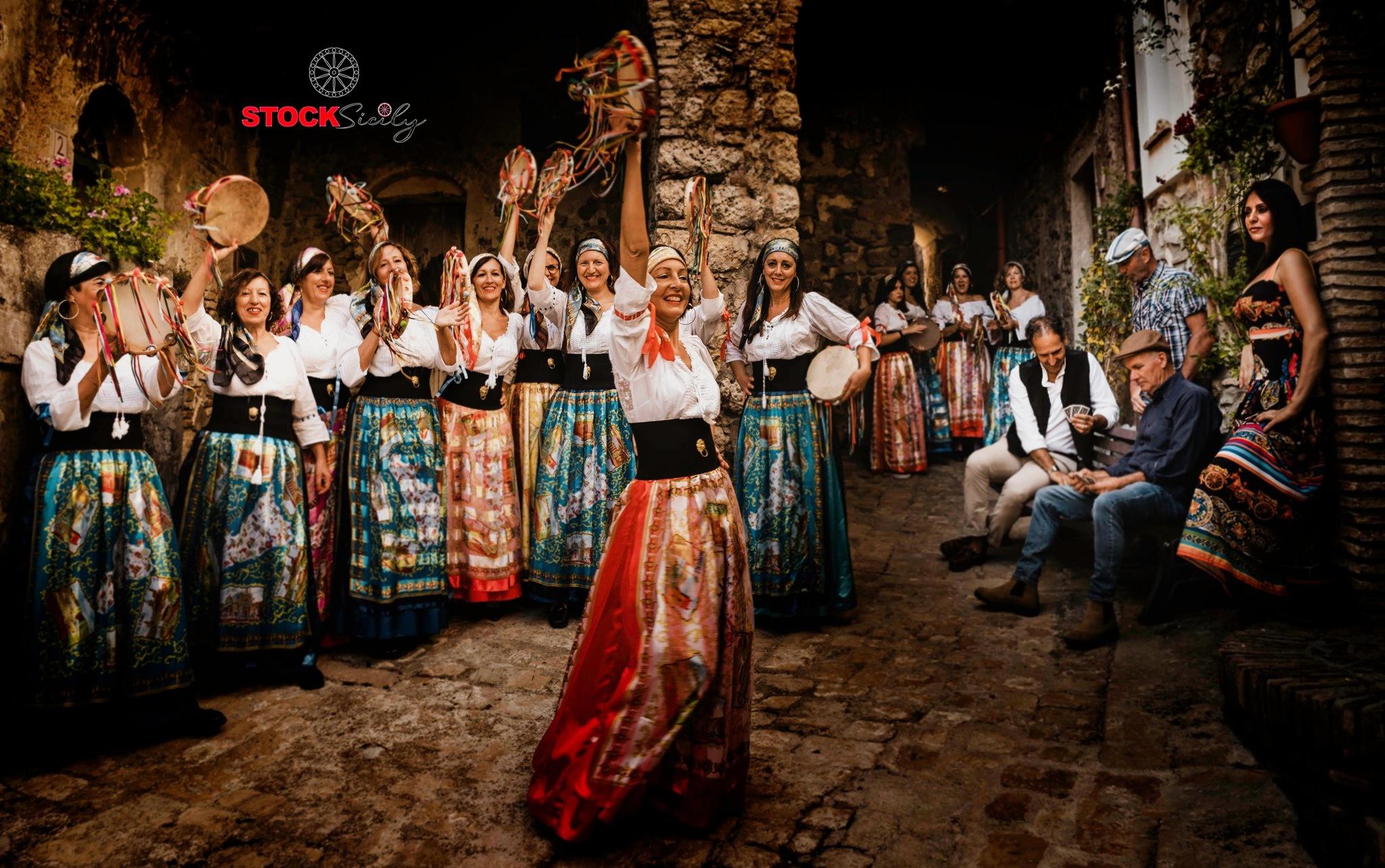 Gruppo folk siciliano