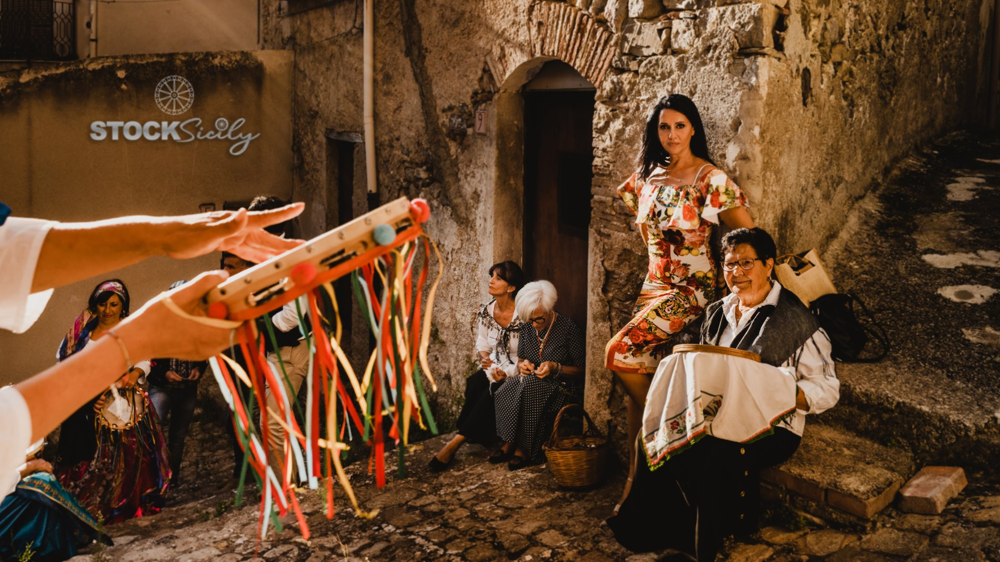 Devotion the film by Dolce and Gabbana at Polizzi Generosa